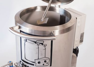 Single phase cheese vat (240V) and batch pasteuriser in one device