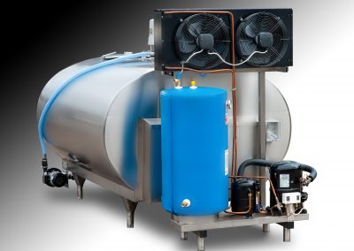 Milk Cooling Tank – with chiller and CIP system (spray balls)