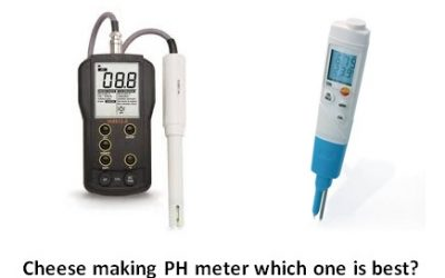 PH meter for cheese making -review