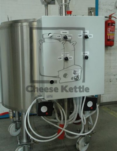 cheese making kettle vat 200 ltr