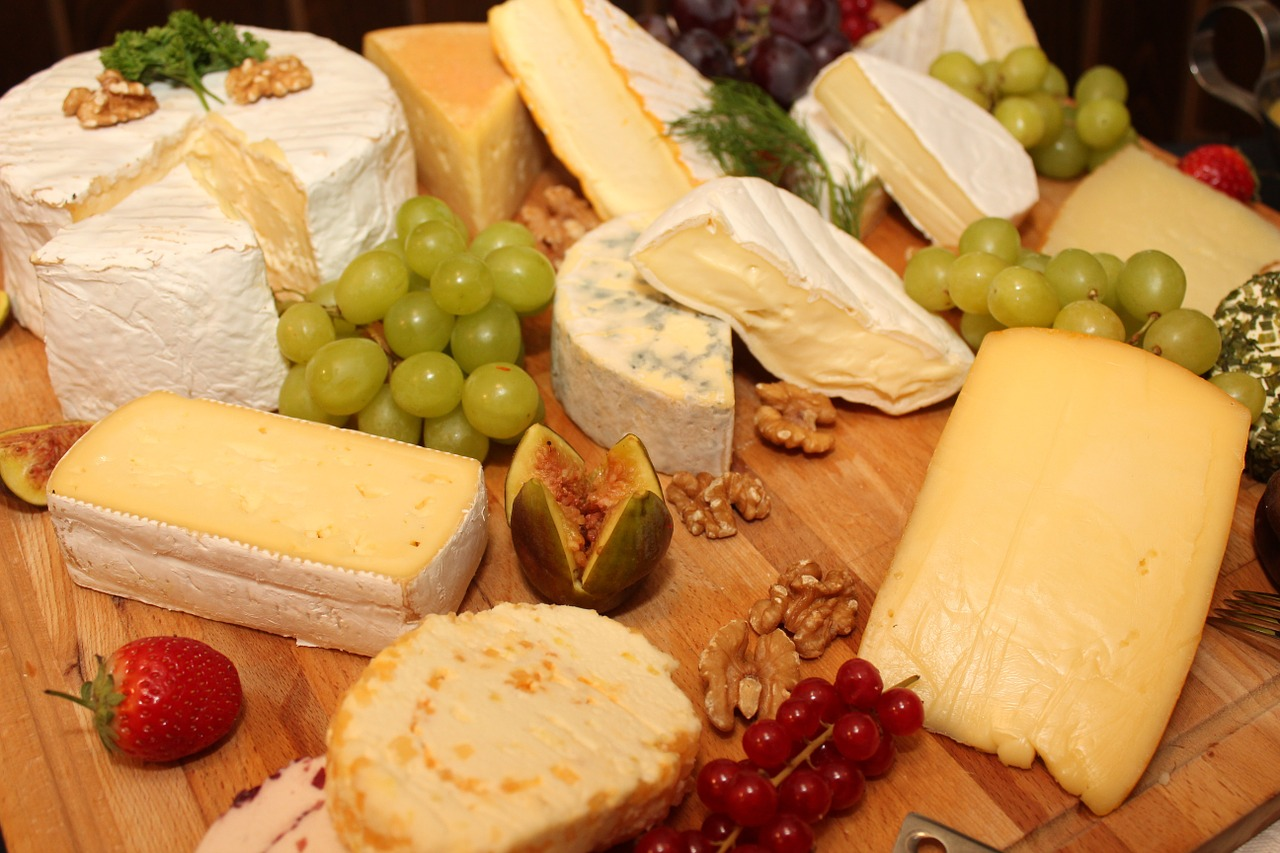 Diiferent Types of Cheese