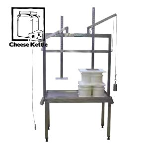 Commercial Mechanical Gravity Cheese Press