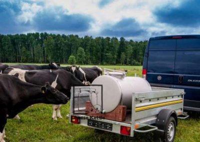 Mobile Milk Trailer Cistern