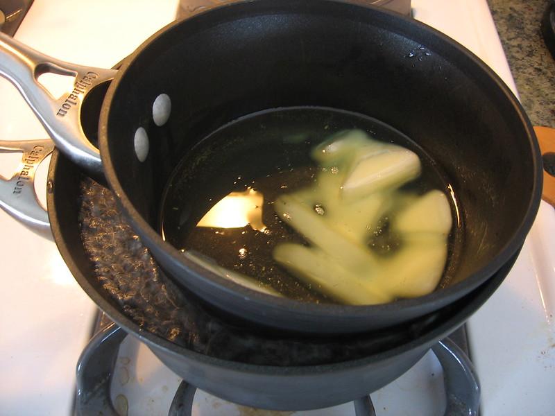Cheese waxing pot
