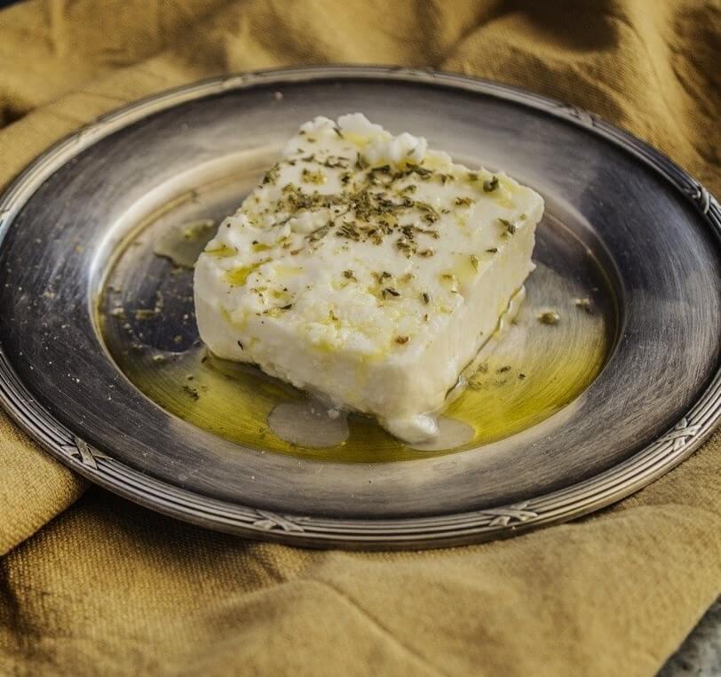 Homemade Feta Cheese