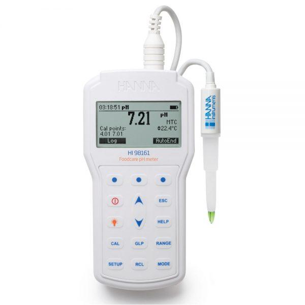 Professional Foodcare Portable pH Meter - HI98161