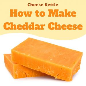 how to make cheddar cheese