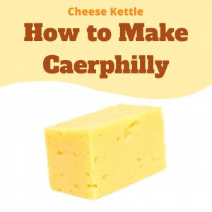 how to make caerphilly cheese